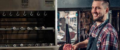 Como usar uma churrasqueira profissional a gás?