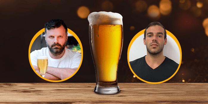 Participantes da live sobre cervejarias pós-pandemia