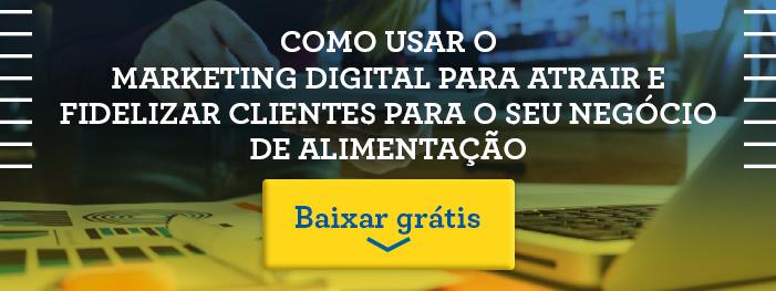 Material Marketing Digital para atrair e fidelizar clientes para o seu restaurante