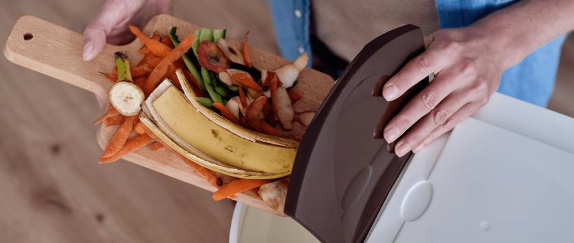 Redução de resíduos em restaurantes industriais