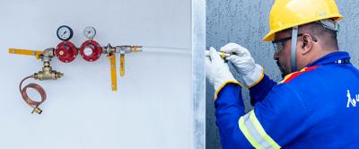 Como instalar uma central de gás no condomínio