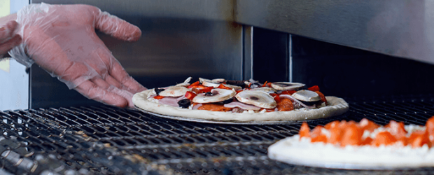 Como funciona um forno esteira para pizza a gás GLP